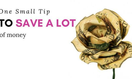 Tip to Save a Lot of Money