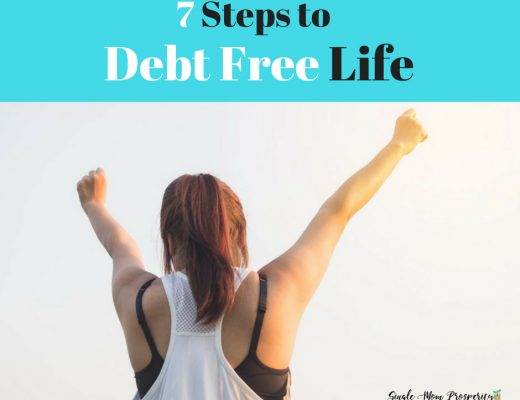 7 steps to debt free life