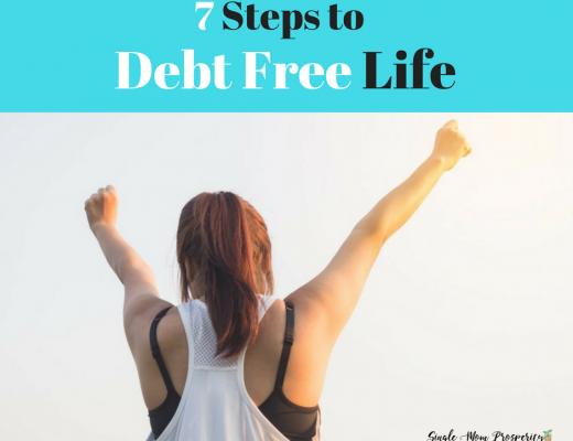 7 steps to debt free life